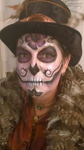 Steampunk Sugarskull 2